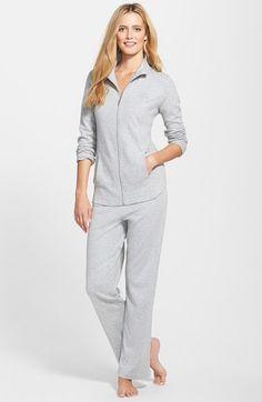 Lauren Ralph Lauren Jacket & Pants Lounge Set | Nordstrom