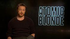 Atomic Blonde Interview - James McAvoy