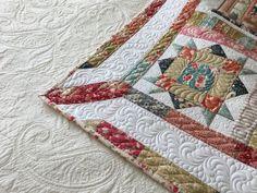 Foxley Village Quilt | Prošívání - Quilting Quilting, Blanket, Birds, Free, Blankets, Bird, Patchwork, Fat Quarters, Shag Rug