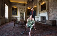 The 12th Earl and Countess of Shaftesbury (Nick and Dinah Ashley-Cooper), at St Giles House (from Telegraph article by Anna Tyzack