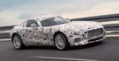 Mercedes-Benz Testing of the new Mercedes-AMG GT http://wp.me/p4zHON-2zP