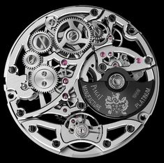 Absolutely stunning - Piaget's Altiplano Skeleton Ultra-Thin Automatic Watch Dream Watches, Fine Watches, Luxury Watches, Cool Watches, Rolex Watches, Watches For Men, Skeleton Clock, Skeleton Watches, Unusual Clocks