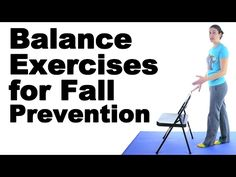 7 Balance Exercises for Seniors-Fall Prevention by Physical Therapists - YouTube