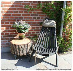 Sådan behandler du en træstub til ude og indebrug. Se de inspirerende billeder.