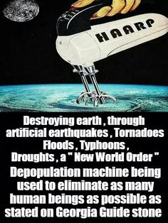 HAARP - Man-made weather modification