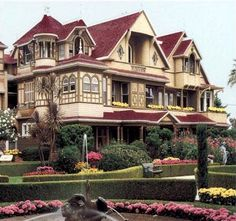 Winchester House in San Jose, CA
