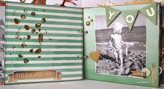 RUTSCHT: Awesome - Mini álbum de Scrapbooking