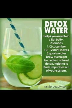 Healthy detox drinks! #fitness #healthy