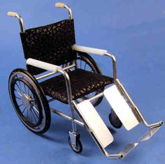 Wheel chair - $105.00 : S P MINIATURES - hand crafted dollhouse miniatures, S P MINIATURES - shop online for dollhouse miniatures