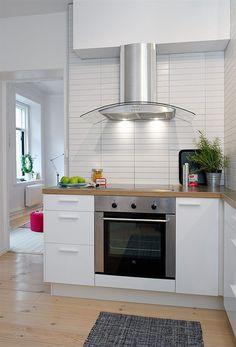 cozinha com coifa de parede - Pesquisa Google
