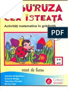 Carte Educativa Pentru Prescolari Activitati Matematice 5 7 Ani Kids Routine Chart, Activities, Education, School, Geo, Author, Teaching, Training, Educational Illustrations