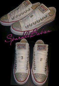 Custom Bling Converse Chuck Taylors  SparkleBabiez 0f927355c