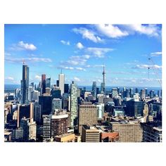 Downtown Toronto in Toronto, ON Great Places, Places Ive Been, Walkable City, Downtown Toronto, San Francisco Skyline, Wilderness, Pond, New York Skyline, Earth