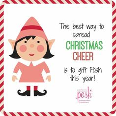 Perfectly Posh! Put something nice in their stocking this year... Or some coal, with gender bender chunk!
