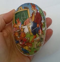 West German Easter Egg Container Original from by Urmelshop