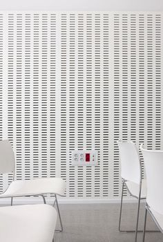 Decustik perforated acoustic panels in wood