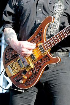 Lemmy's Rickenbacker Rocks !!! #cSw:) - Electric bass four string, pinned via nellieecox's MUSIC #Pinterest board.