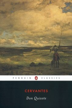 """Another book on my """"to read"""" list.  Don Quixote should be on my bucket list."""