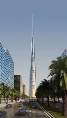 """When it is completed in 2018, the mixed-use Jeddah Tower (formerly Kingdom Tower) will become the new world's tallest tower. Read James W. Fortune's """"The Elevator Designs of Jeddah Tower"""" in the May issue. #elevatordesign #lift #skyscraper #supertall"""