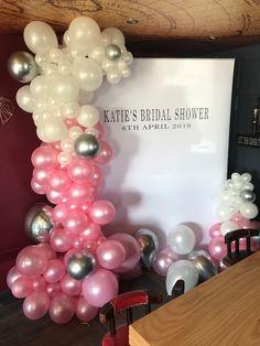 Wedding Balloon Decorations, Wedding Balloons, Bridal Shower, Chandelier, Ceiling Lights, Home Decor, Couple Shower, Homemade Home Decor, Candelabra