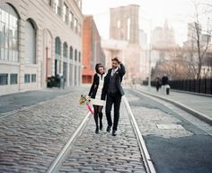 Wedding photo location: DUMBO, Brooklyn