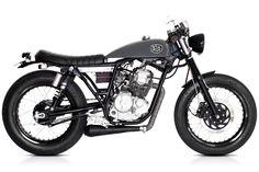 Yamaha Scorpio Cafe Racer. Deus Ex Machina