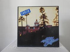 Vinyl Records and Vintage T-Shirts. Eagles Hotel California, Vintage Records, Vinyl Records, Painting, Art, Art Background, Painting Art, Kunst, Paintings
