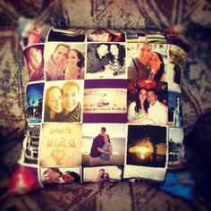 For the Instagram addict in your life, the Stitchtagram pillow
