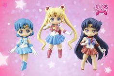"""sailor moon crystal"" ""sailor moon"" ""sailor moon figures"" ""sailor moon toys"" ""sailor moon dolls"" ""sailor moon 2015"" sailor mars mercury chibi anime japan banpresto toy figure"