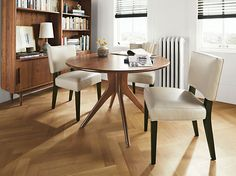 Georgia Chair in Leather - Leather Chairs - Chairs - Dining - Room & Board