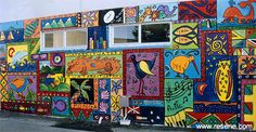 Prize winning mural by Elim Christian College
