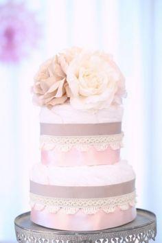 diaper cake.pink