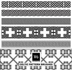 Celtic and Elvish Decoration Flourish Vectors Pattern Images, Pattern Design, Celtic Symbols And Meanings, Celtic Connections, Celtic Border, Wallpaper Background Design, Celtic Knot Designs, Celtic Patterns, Wood Carving Art