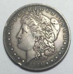 90% Silver 1884 Morgan Silver Dollar. Take a LOOK!