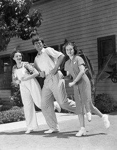 Judy Garland, Buddy Ebsen and Deanna Durbin. Buddy Ebsen had a long career. He played Jed Clampett in The Beverly Hillbillies and detective Barnaby Jones.