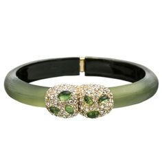 Modulor Gold Small Pebble Bracelet in Light Sage | Holt Renfrew