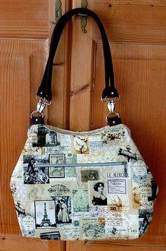 """allerleisocken ... und mehr!: Tasche Arya - oder - """"Auf nach Paris""""...."""