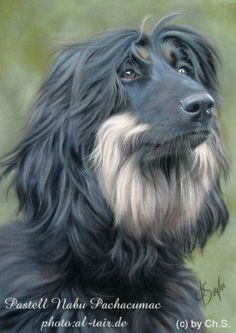 Christina Schulte (pastel painting)