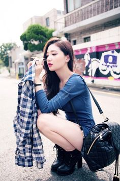 korean fashion - ulzzang - ulzzang fashion - cute girl - cute outfit - seoul…