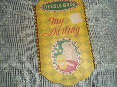 Vintage My Darling Needle Book  Made in Japan