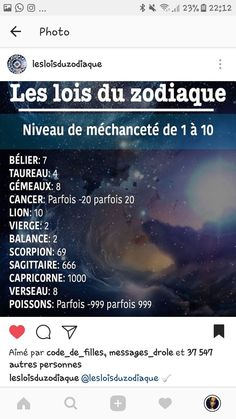 Hahahah j suis cancer😂😂😂♋️et c vrai Zodiac Signs Horoscope, Zodiac Capricorn, Zodiac Quotes, Astrology Signs, Zodiac Funny, Quotations, Affirmations, Lol, Messages