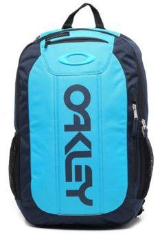 5b2b0610dfb71 Mochila Oakley Recortes Azul-Marinho Azul