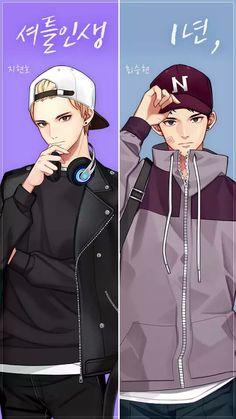 Who's the best write on comments,I like the both😉 Otaku Anime, Manga Anime, Anime Art, Anime Siblings, Anime Couples, Cute Anime Boy, Hot Anime Guys, Anime Boys, Handsome Anime