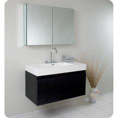 "Modern Bathroom Vanities New Jersey found it at wayfair - pickering 25"" single wall-mounted bathroom"