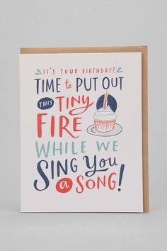 Emily McDowell Let's Celebrate Happy Birthday Card