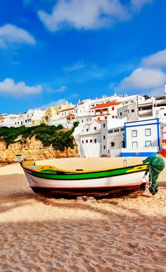 Carvoeiro beach in Southern Portugal | 32 Stupendous Places in Portugal every Travel Lover should Visit