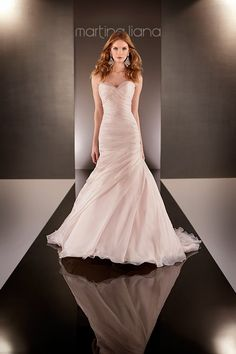 gorgrous blush gown by martina liana