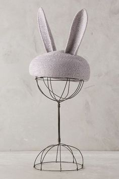 Juney Bunny Ears - anthropologie // great for a fifi lapin costume Quirky Fashion, Eugenia Kim, Mode Inspiration, Headgear, Wearable Art, Fashion Accessories, My Style, Ears, Anthropologie