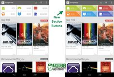 Google Play Store updated with new button design and other UI tweaks