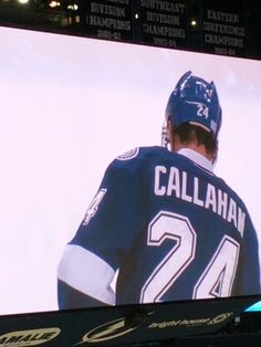 Tampa Bay Lightning #24 Ryan Callahan